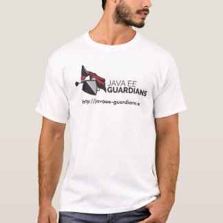 T-shirt dos guardiães de Java EE Camiseta