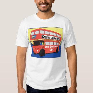 T-shirt dos homens com logotipo de Routmaster