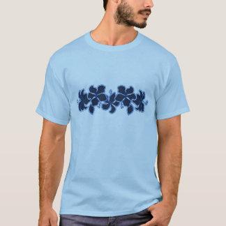 T-shirt dos homens do hibiscus de Kailua Camiseta