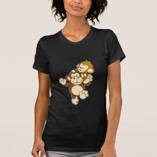 T-shirt dos irmãos do macaco