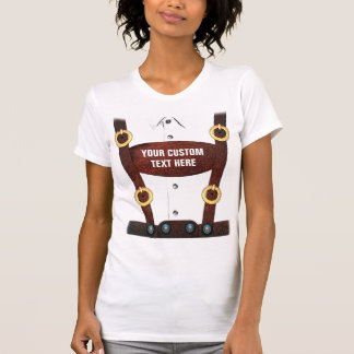 T-shirt dos Lederhosen de Oktoberfest Camiseta