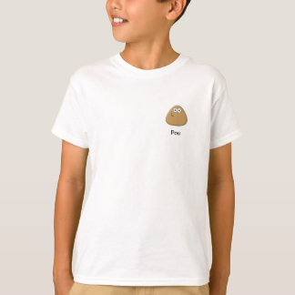T-shirt dos miúdos com ícone de Pou Camiseta