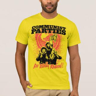 T-shirt dos partidos comunistas camiseta
