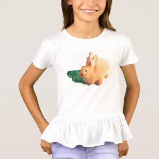 """T-shirt dos plissados do """"COELHINHO DA PÁSCOA"""" das Camiseta"""