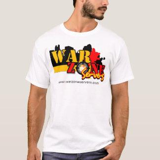 T-shirt dos servidores de Warzone Camiseta