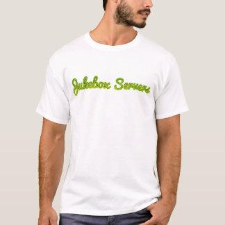 T-shirt dos servidores do jukebox