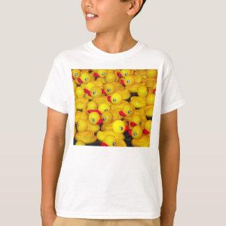 T-shirt ducky de borracha camiseta