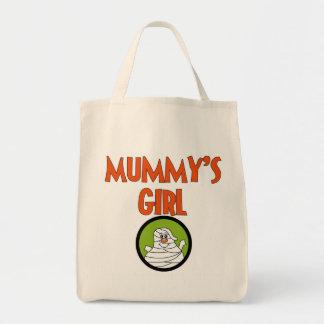 T-shirt e presentes da menina da mamã sacola tote de mercado