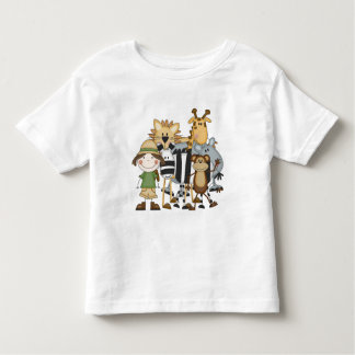 T-shirt e presentes da menina do safari