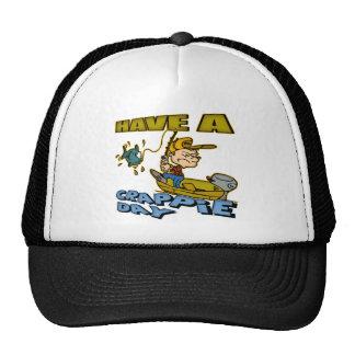 T-shirt e presentes da pesca do dia do tipo de pei boné