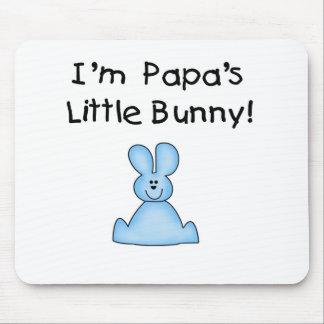 T-shirt e presentes do coelho da papá azul poucos mouse pad