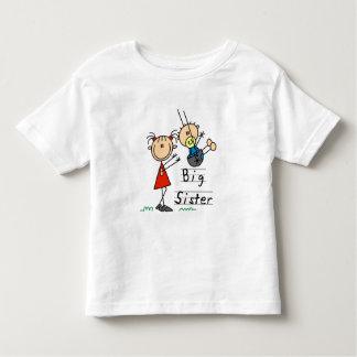 T-shirt e presentes do irmão mais novo da irmã camiseta infantil