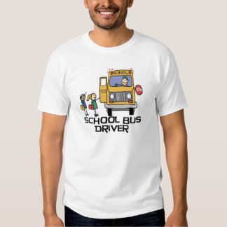 T-shirt e presentes do motorista de auto escolar