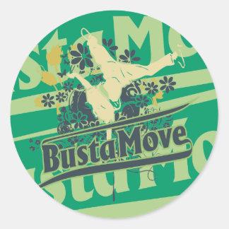 T-shirt e presentes do movimento de Busta Adesivo
