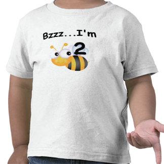 T-shirt e presentes do segundo aniversário do zang