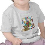 T-shirt e presentes do urso de ursinho do feliz an