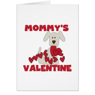 T-shirt e presentes dos namorados da mamã do cartão