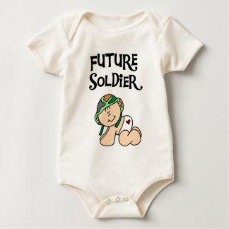 T-shirt e presentes futuros do soldado do bebê