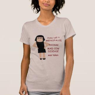 T-shirt engraçado B da menopausa Camiseta
