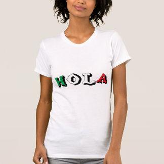 T-shirt engraçado de Hola do mexicano