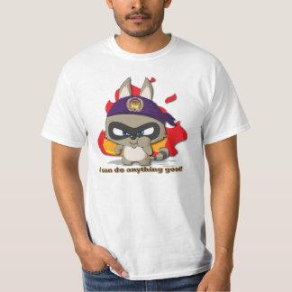 T-shirt engraçado do personagem de desenho animado camiseta