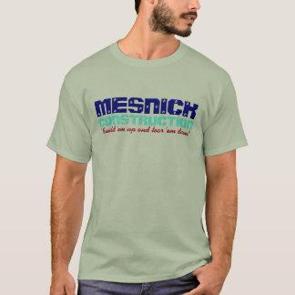 T-shirt engraçado retro do humor da construção de