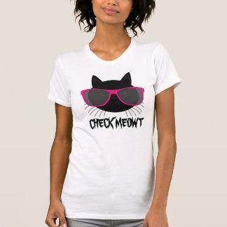 T-shirt engraçados do gato, camisetas de Meowt da