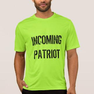 T-shirt entrante VIVO do patriota de RichLoco Camiseta