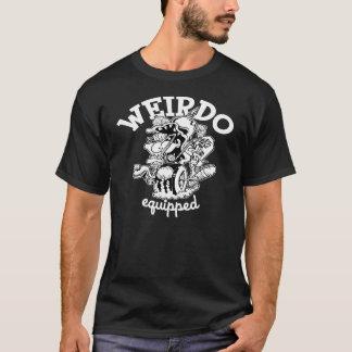 T-shirt equipado esquisito camiseta
