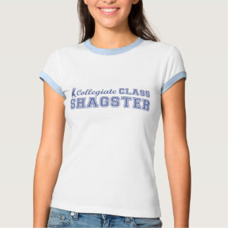 T-shirt escolar da classe das senhoras - Shagster