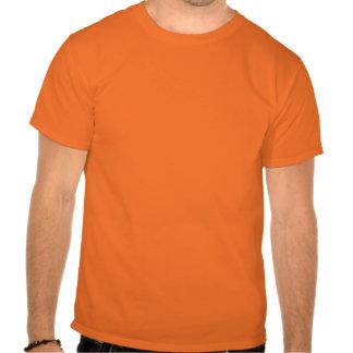 T-shirt espiral preto e branco