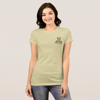 T-shirt exótico do Podcast da ilha do Tiki das Camiseta