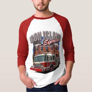 T-shirt expresso da ilha do ferro camiseta