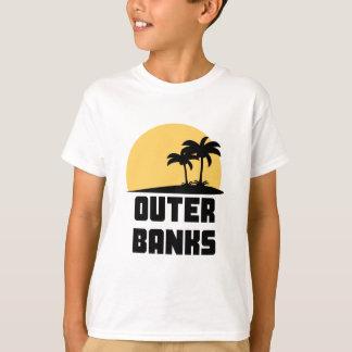 T-shirt exterior dos bancos das palmeiras camiseta