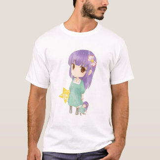 T-shirt feericamente das meninas dos Gêmeos do Camiseta