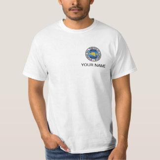 T-shirt feito sob encomenda de ITF disponível em