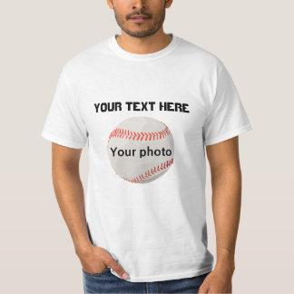 T-shirt feito sob encomenda do texto e da foto
