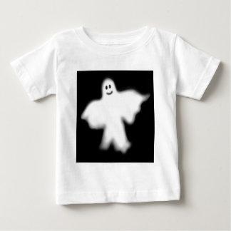 T-shirt feliz da criança do fantasma