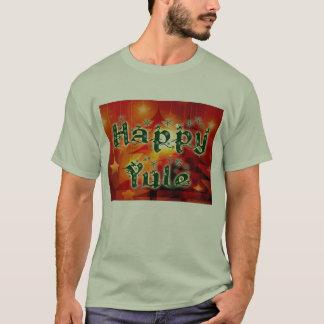 T-shirt feliz de Yule Camiseta