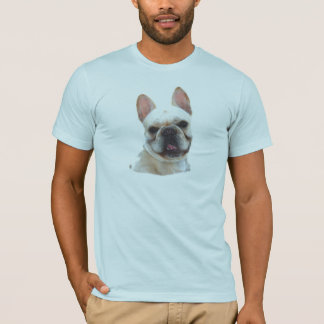 T-shirt feliz do buldogue francês camiseta