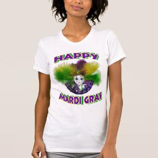 T-shirt feliz do carnaval camiseta