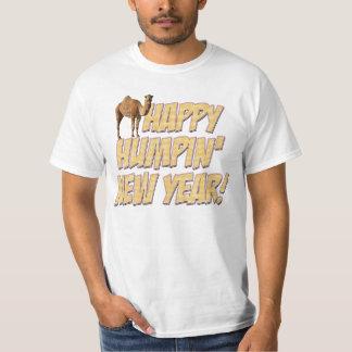T-shirt feliz do partido do ano novo 2014 de Humpi