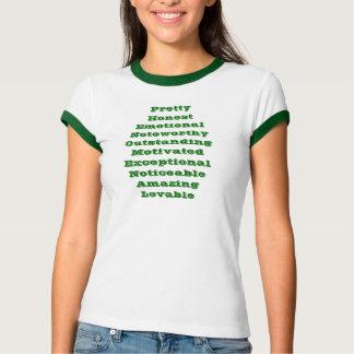 T-shirt FENOMENAIS das senhoras!