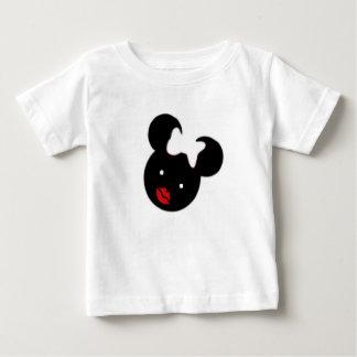 T-shirt fino do jérsei de Cutie do bebê Camiseta Para Bebê