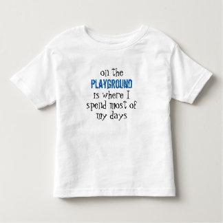 T-shirt fino pré-escolar do jérsei para crianças