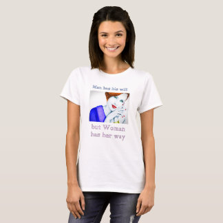 T-shirt forte da indicação do feminismo da camisa