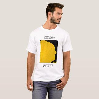 T-shirt Funky da arte da panqueca do cozinheiro Camiseta