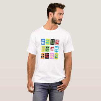 T-shirt Funky dos cartões Camiseta