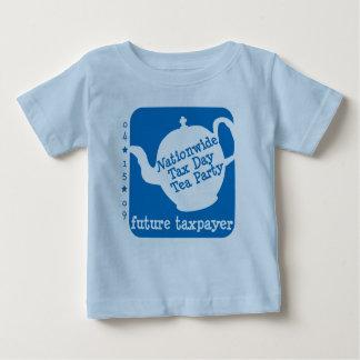 T-shirt futuro da criança do contribuinte camiseta para bebê