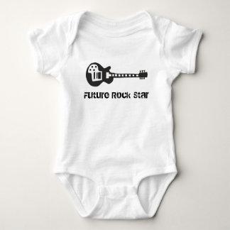 T-shirt futuro da estrela do rock